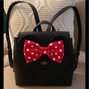 New Kate Spade New York Disney Minnie Backpack